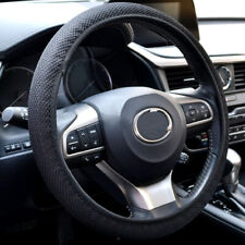 "38cm 15"" Summer Elastic Non-Slip Car Auto Steering Wheel Cover Fabric Fish Net"