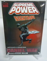 Supreme Power Nighthawk Way Dillon Brand New Marvel HC Hard Cover Sealed