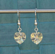 Swarovski Heart Costume Earrings