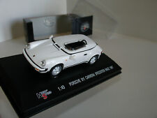 1/43 PORSCHE 911 CARRERA SPEEDSTER RACE 1987 WHITE by HIGH SPEED