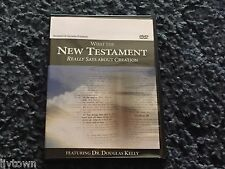 What the New Testament Really Says About Creation DVD Dr Douglas Kelly Free Ship
