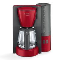 Bosch TKA6A044 Rot-Anthrazit Elektro-Klein Filter-Kaffeemaschine 1200 Watt
