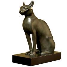 Bastet Ancient Egyptian Cat Goddess sculpture Museum Replica Reproduction