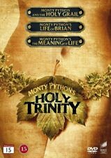 MONTY PYTHON and The Holy Grail + Life of Brian + Meaning of Life - 3 x DVD  NEW