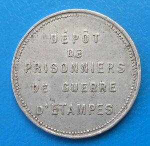 91 Essonne Etampes dépôt de prisonniers de guerre PG POW 10 centimes Elie 10.2