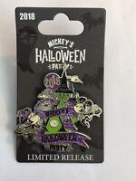 DLR - Mickey's Halloween Party 2018 Logo Disney Pin (B)