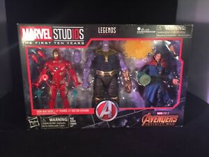 NEW Legends Series The First 10 Years Avengers Thanos Iron Man Doctor Strange
