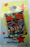 Disney Summer Vacation Mickey Mouse & Minnie  Mouse Pin