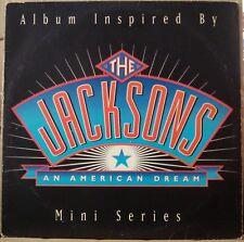 "THE JACKSONS 1992  ""An American Dream"" SCARCE LP MICHAEL JACKSON Nm BRAZIL Press"