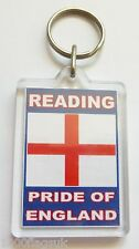 Reading Pride of England Acrylic Key Ring Keyring *