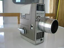 VINTAGE BELL &HOWELL MOVIE CAMCORDER W/ COWHIDE CASE, &COMAR ZOOM LENS F/1.8, 1