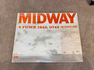 Avalon Hill Midway 4 June 1942 0745 Naval-Air Battle Board Game Vintage WWII