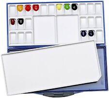 Mijello Fusian WaterColor Palette Martin Airtight Leak 24 Colors Professionals