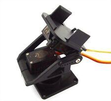 PT Pan/Tilt Kamera Platform Anti-Vibration Cam Mount für Servo Aircraft FPV Neu