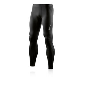 Skins Mens DNAmic Core Long Compression Tights Bottoms Pants Trousers Black