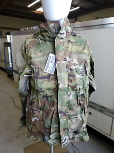 Military Soft Shell Cold Weather Jacket With Hood SM/Reg 1638