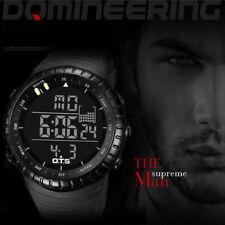 Men's Luxury Military Army Sports Quartz Date Luminous Wrist Watch Waterproof