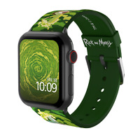 MobyFox Rick and Morty Apple Watch 38mm, 40mm, 42mm 44mm Band ST-WNR22RAM2001