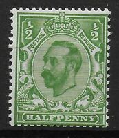SG325Wi.  1/2d.Bright Green (Die IB) Wmk.Inv.  Very Fresh UM.  Ref.0867