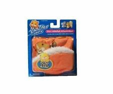 NEW Zhu Zhu Pets Hamster Accessory Kit Orange Bed and Blanket