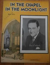 In the Chapel in the Moonlight - Guy Lombardo - Sheet Music 1936