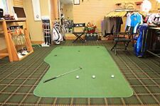 Big Moss Golf V2 SERIES THE COUNTRY CLUB 6'X12' Practice Putting Chipping Green