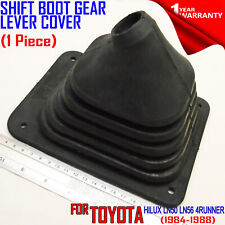 FOR TOYOTA HILUX LN50 LN56 1984-88 BLACK RUBBER SHIFT BOOT GEAR LEVER COVER