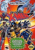 X-Men Sega Genesis Video Game and Case