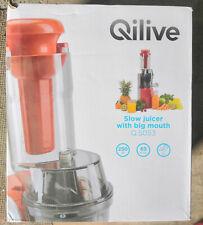 Extracteur de jus QILIVE - Rouge - NEUF