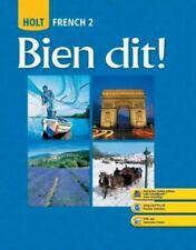 Bien dit!: Student Edition Level 2 2008, HOLT, RINEHART AND WINSTON, Good Books