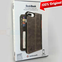 NEW Twelve South BookBook Wallet ID Folio Brown Leather Case for iPhone 7 Plus