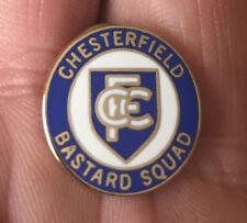 CHESTERFIELD C.B.S. HOOLIGAN FIRM ENAMEL PIN BADGE