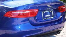 JAGUAR xe Saloon 4D BOOT LIP SPOILER ALA 2015-2017 Venditore Regno Unito.