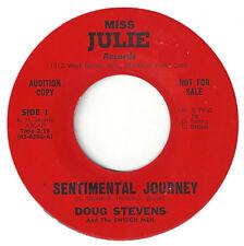 ♫DOUG STEVENS & SWITCH MEN Sentimental Journey/Thank You  Miss Julie 6502 ROCK ♫