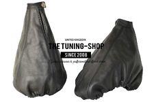 For Alfa Romeo 156 1998-2002 Gear & Handbrake Gaiter Black Leather