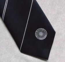 THE CIVIC SHIELD AWARD TIE VINTAGE RETRO CLUB ASSOCIATION 1980s 1990s NAVY