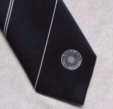 THE CIVIC SHIELD AWARD TIE VINTAGE RETRO CLUB ASSOCIATION 1980s 1990s NAVY