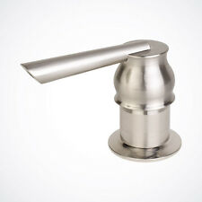 NEW Brushed Nickel Soap Dispenser for Kitchen Bathrooom Faucet Sink Lotion Pump