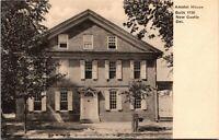 New Castle Delaware Amstel House 1920s E. ChallengerPostcard