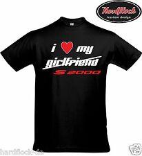T-Shirt Love my S2000 Lustig  AP1 AP2 Tuning Japan Ricer JDM s2k