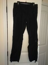 EUC Uniqlo Men's Faded Black Lightweight Drawstring Pants Size 32 Inch M