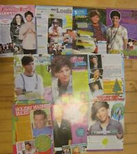 Louis Tomlinson, One Direction, Lot of TEN Full Page Clippings