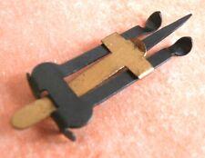 12 Anlegemarken - Gauge Pins oder Frösche - Buchdruck - Handanlage - unbenutzt