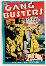 DC Comics GANG BUSTERS #43 G Dec-Jan 1955 Vintage Comic