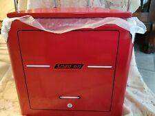 Snap-On Tools Retro Cooler Red Powder Coat Metal 1946 Tool Chest Replica