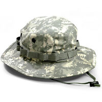 US Army Outdoor Tactical Military Hunting Fishing ACU DIGITAL Boonie Hat Cap