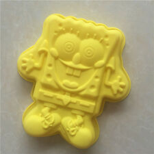 Sponge Bob Shape Silicone Mould For Cake Decoration/Chocolate Kitchen Tool