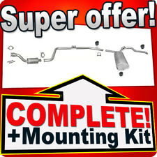 RENAULT TRAFIC II 1.9 dCi 80 100 LWB-Lang 2001-2006 Silencer Exhaust System 775C