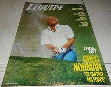 EQUIPE MAGAZINE N°377 1988 GOLF NORMAN J.O. SEOUL GRIFFITH FOSBURY F1 McLAREN