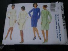 B5628  BUTTERICK SIZE 28 WOMENS DRESS AND FITTING SHELL SEWING PATTERN